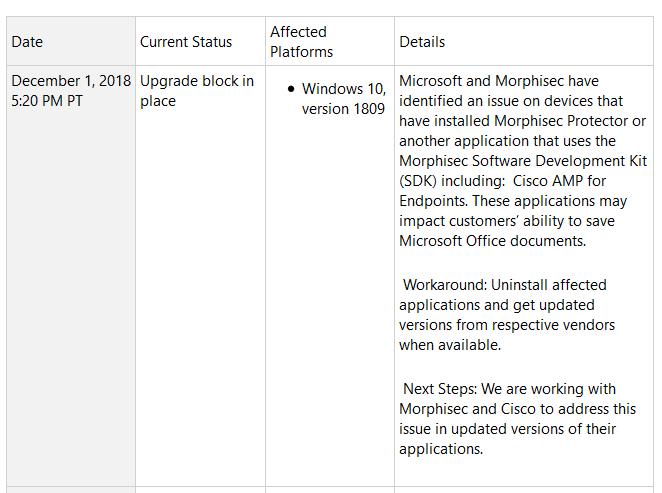 Win10十月更新再爆新BUG:无法保存Office文档的照片 - 2