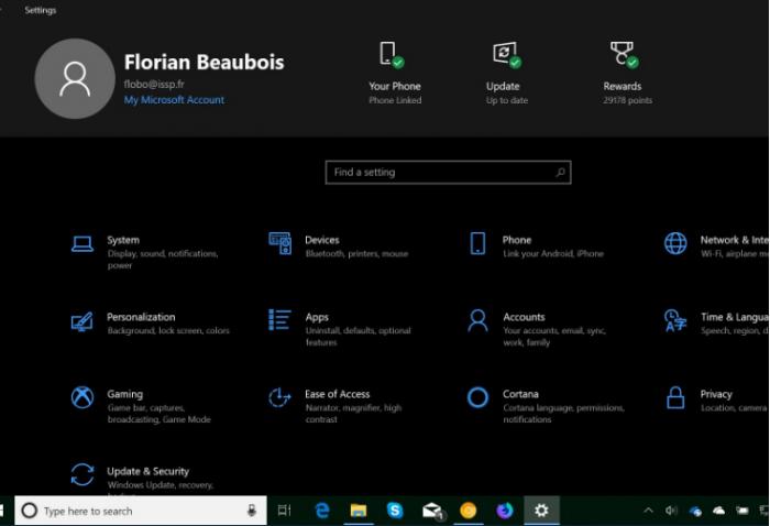 微软在Win10应用设置中测试新的快捷方式的照片 - 1