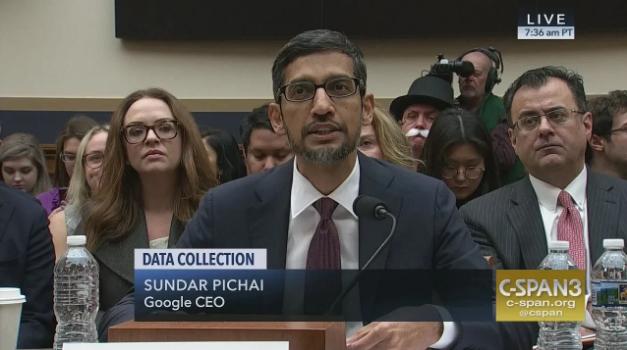 谷歌CEO在听证会少量披露中国版搜索引擎进度的照片