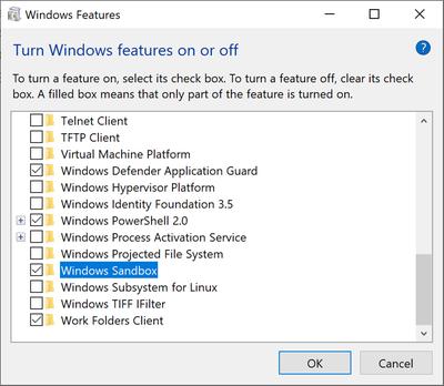 如何在Win10上激活Windows Sandbox沙盒功能的照片 - 6