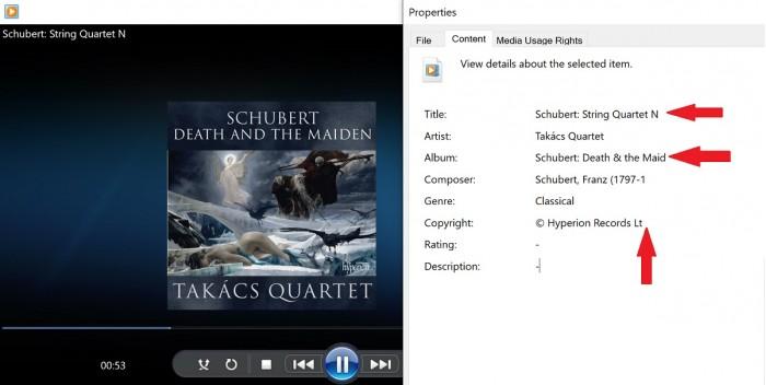 Win10 19H1已修复FLAC音乐信息显示错误问题的照片 - 2