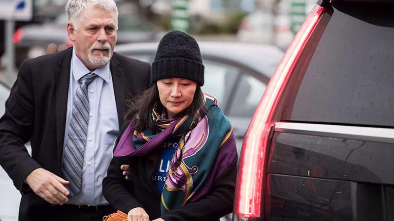 加拿大司法部就孟晚舟案签发授权 华为:对此感到失望的照片