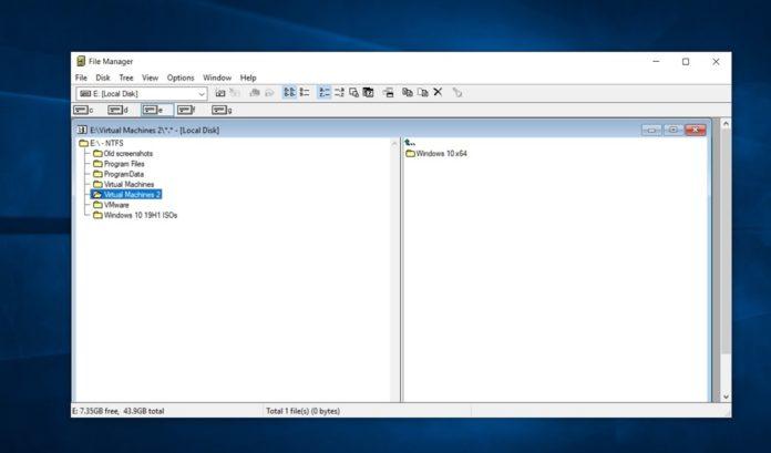 微软将Windows 3.0的文件管理器引入Win10商店的照片 - 1