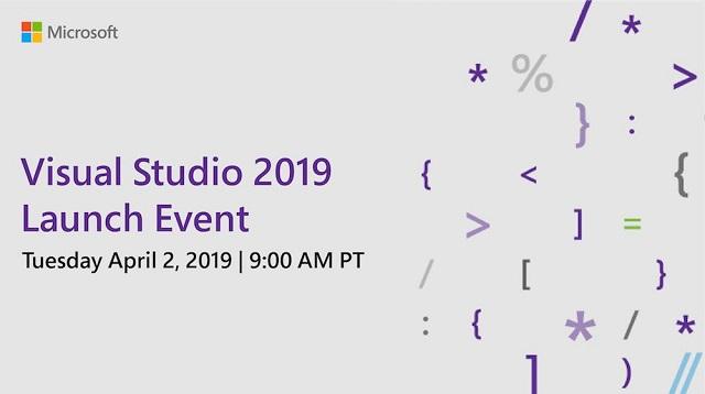 微软:Visual Studio 2019将于4月2日正式发布的照片