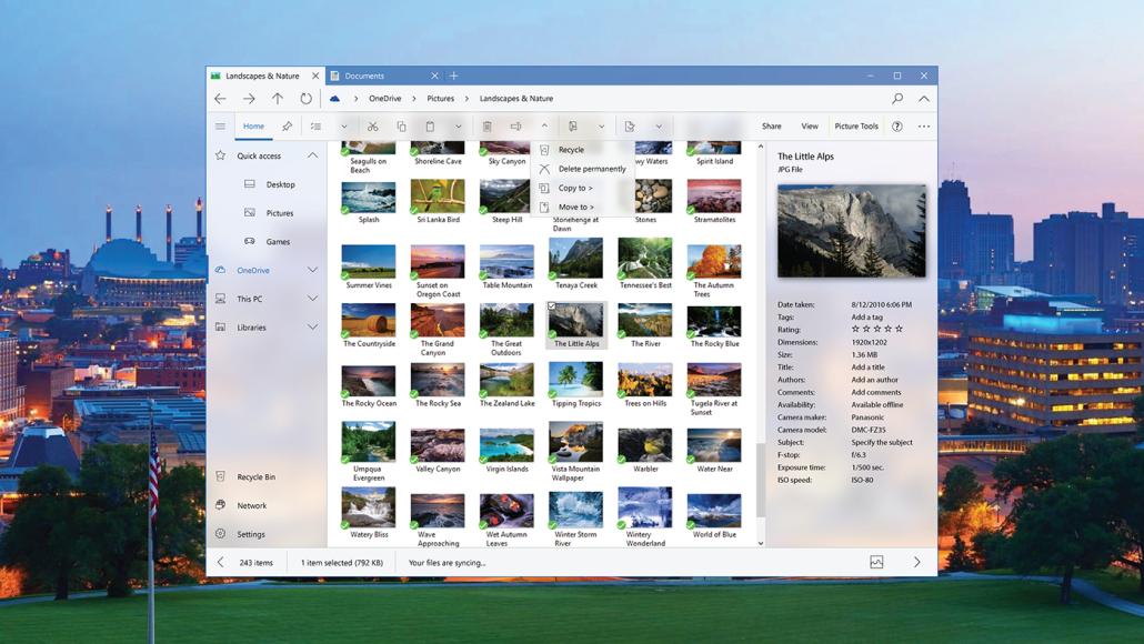 消息称微软正在开发全新的文件管理器:采用Fluent Design的照片 - 1
