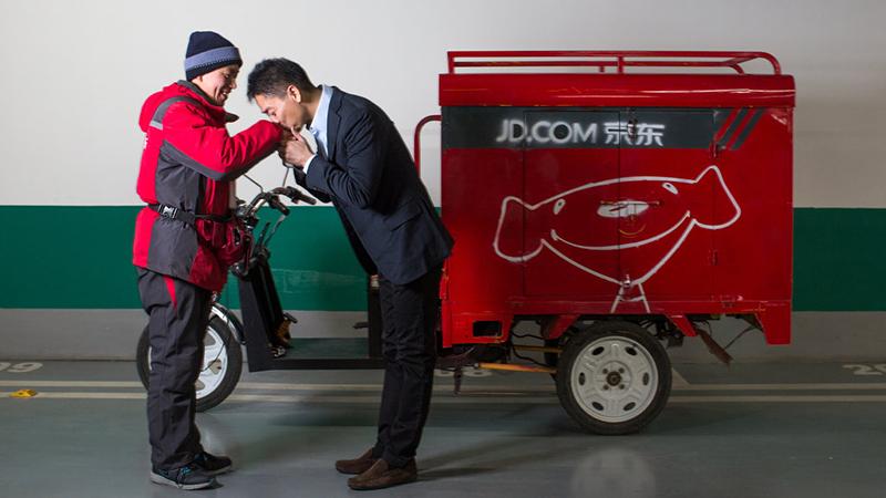 京东物流取消底薪波及18万人 快递员人均每月减少近2000元的照片