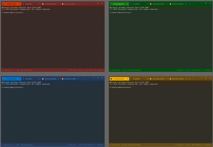详解Windows的全新终端 – Windows Terminal的照片 - 2