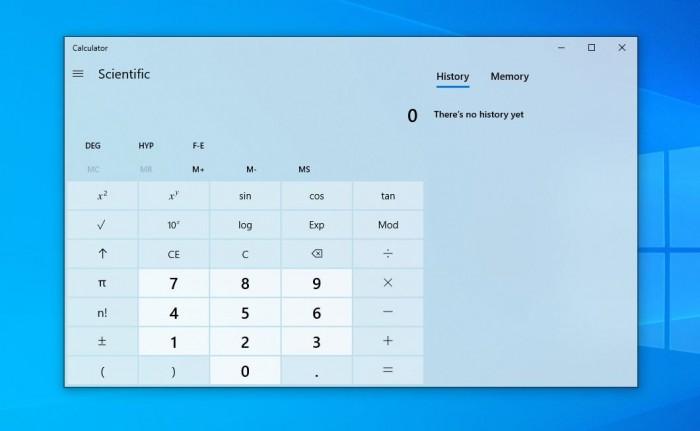 Win10的计算器应用程序被移植到Android/iOS和Web上
