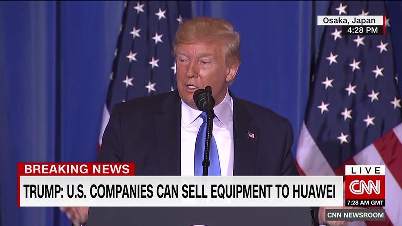到底能不能卖给华为?美企、官员都被特朗普搞蒙了的照片