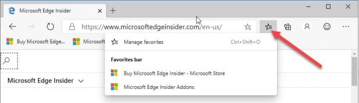 新版Edge浏览器已启用Win10分享和收藏夹按钮功能的照片 - 3