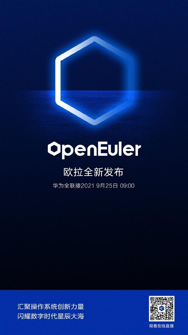 鸿蒙之后 华为宣布将发布全新操作系统openEuler欧拉