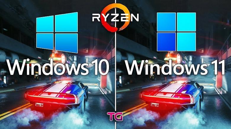 Windows 11下AMD锐龙性能暴跌15%?实测总算放心了
