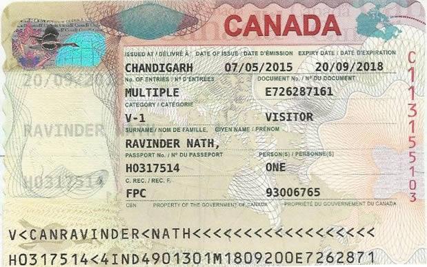 加拿大小签