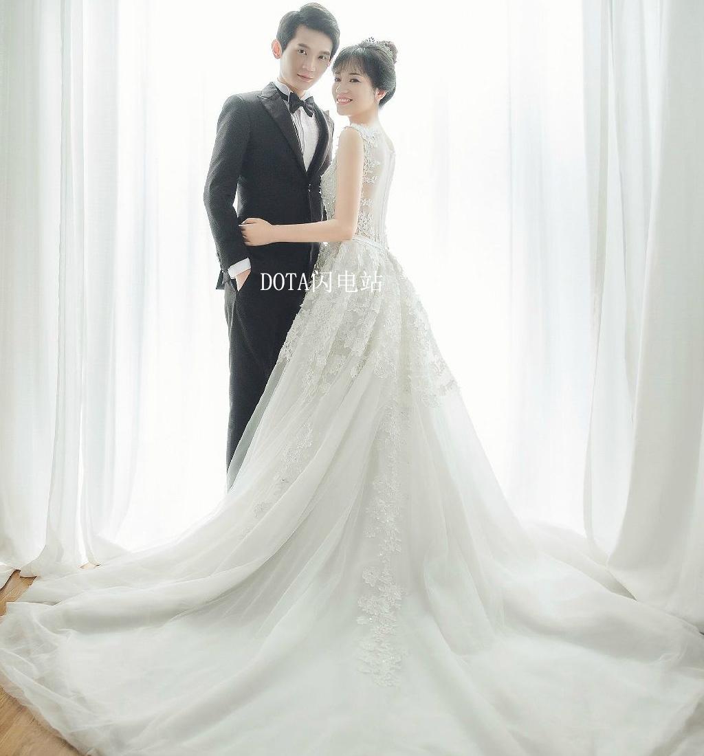 宝哥结婚了!婚纱照
