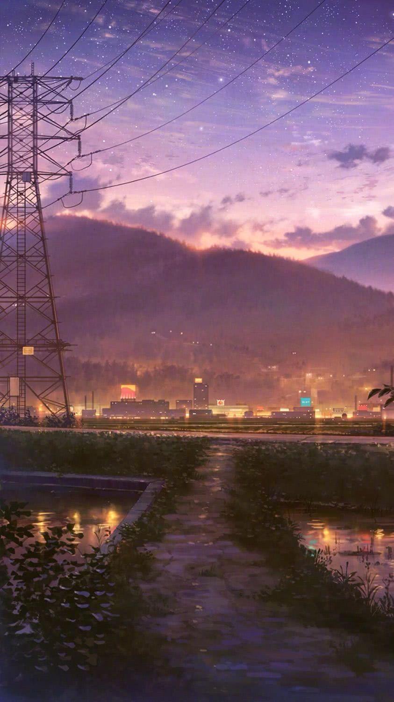 温暖且明亮的晚安心语美图,风雨如花,清澈如夕