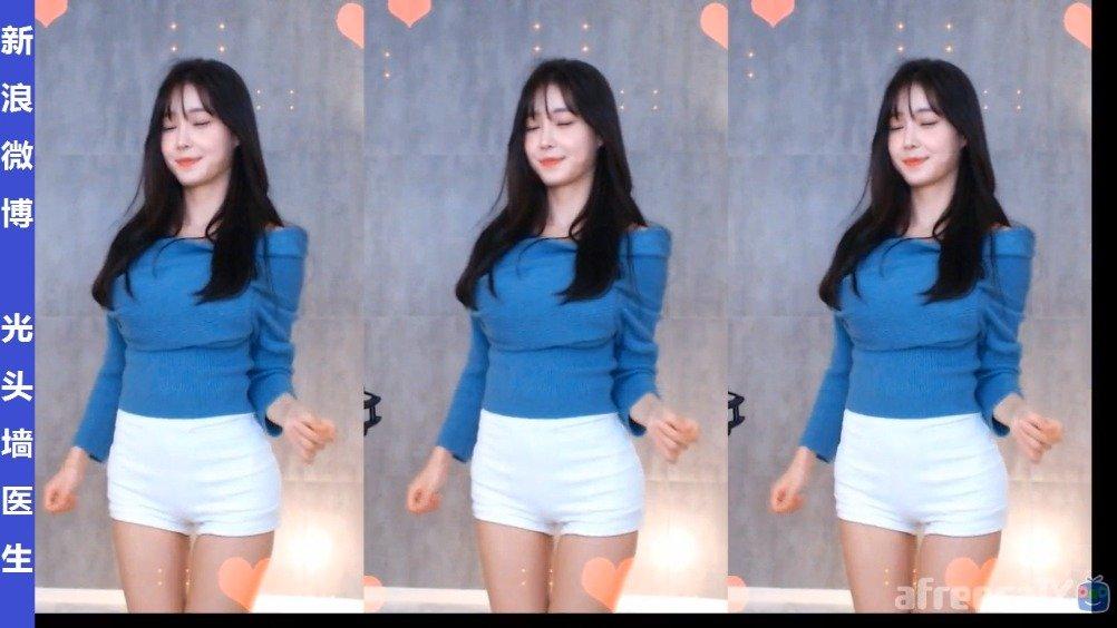 韩国美女主播塔米米타미미直播热舞剪辑20200120