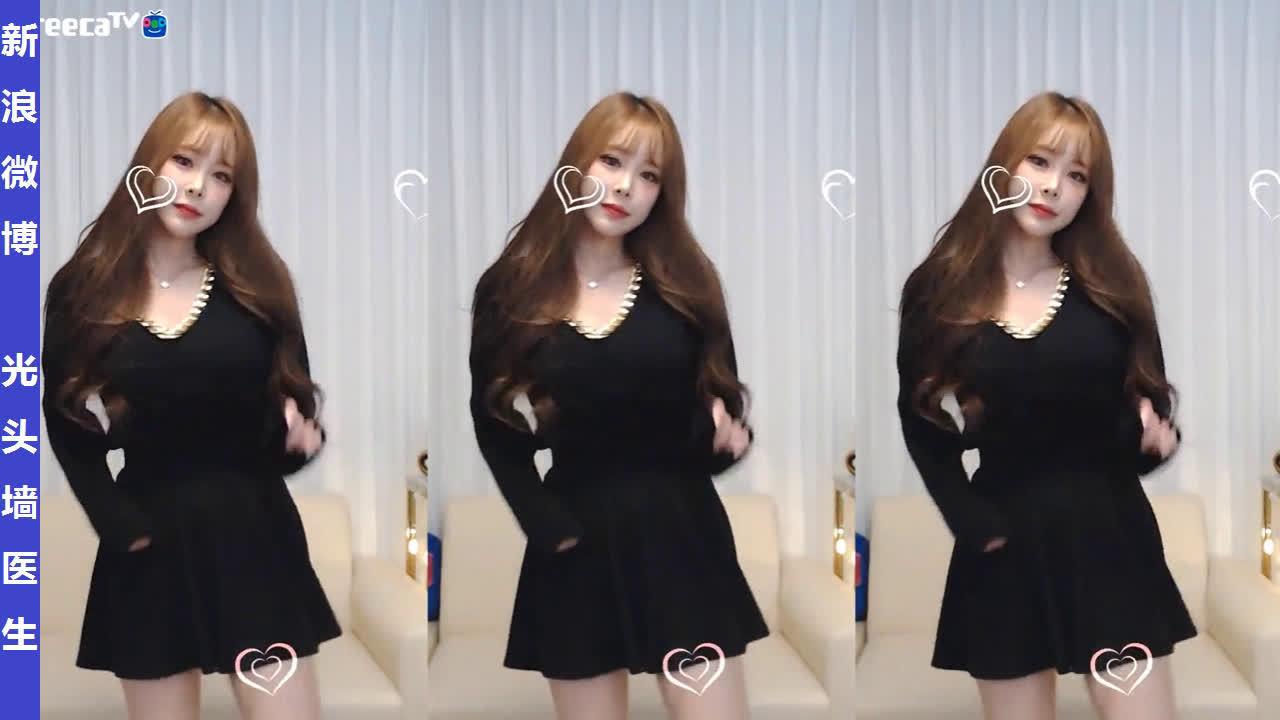 AfreecaTV女主播朴哈박하直播热舞剪辑20200123
