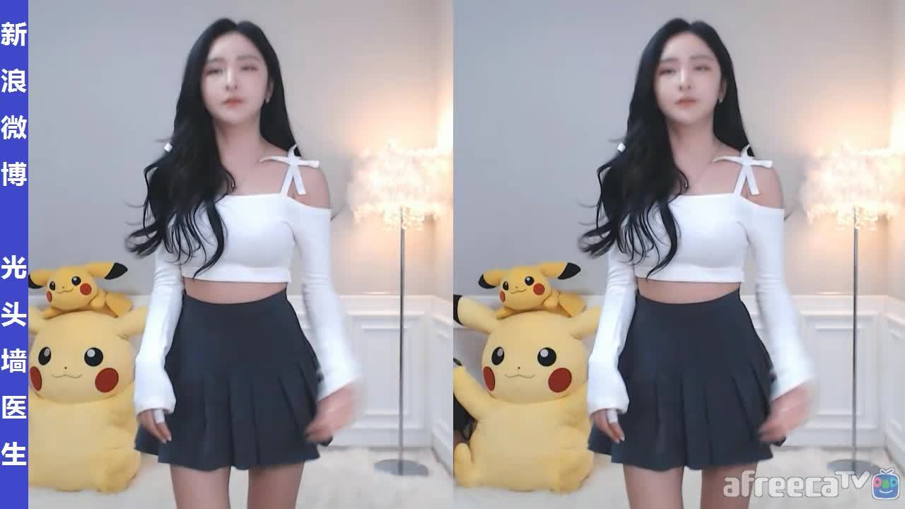 AfreecaTV美女主播皮丘피츄直播热舞剪辑20200226