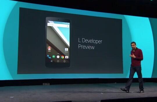 Android 4.0以来的最大更新:Android L视频抢先体验的照片