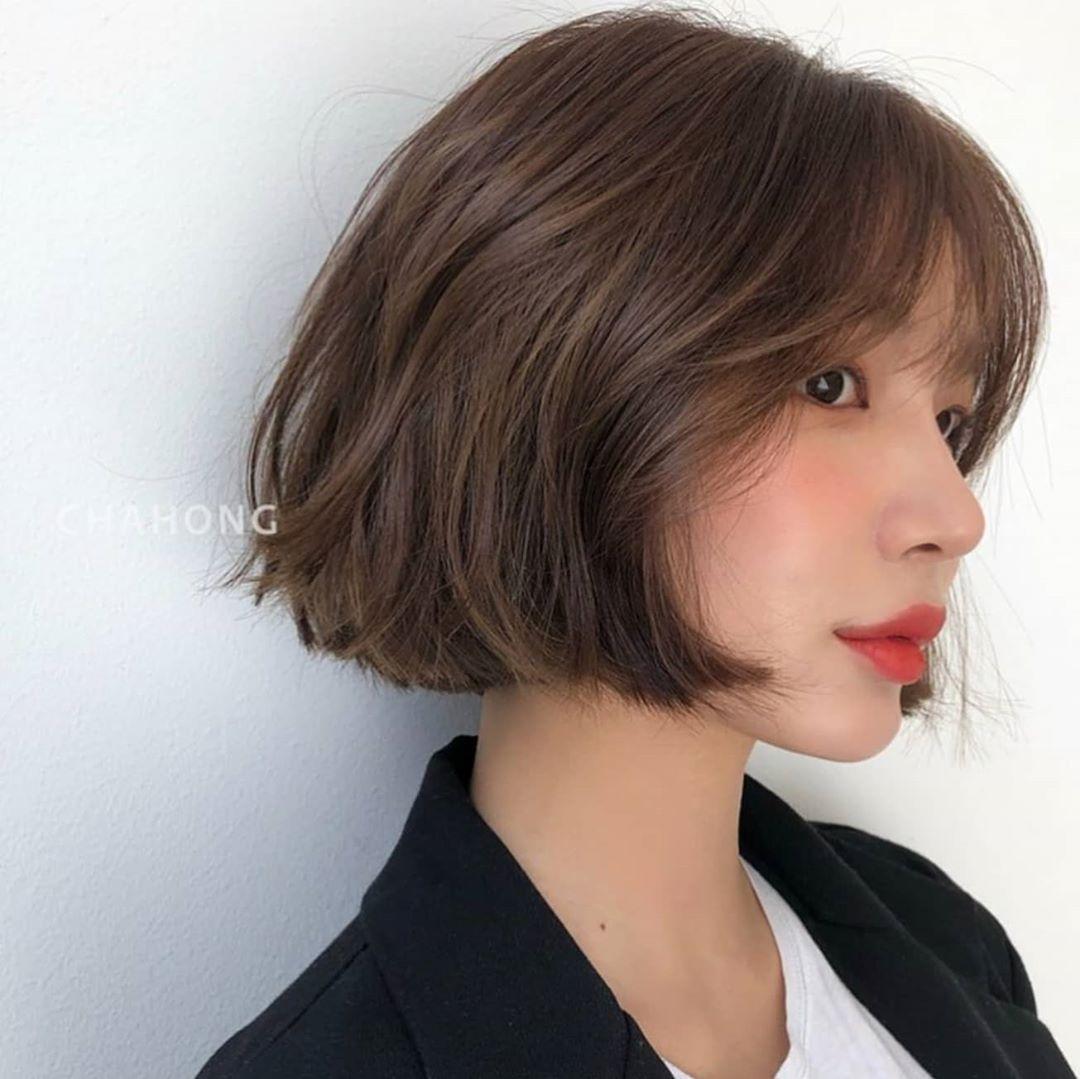 到了春天想换发型?这些韩国女生的短发造型或许能给你灵感!插图(1)