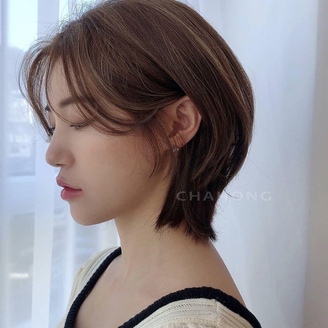 到了春天想换发型?这些韩国女生的短发造型或许能给你灵感!插图(5)