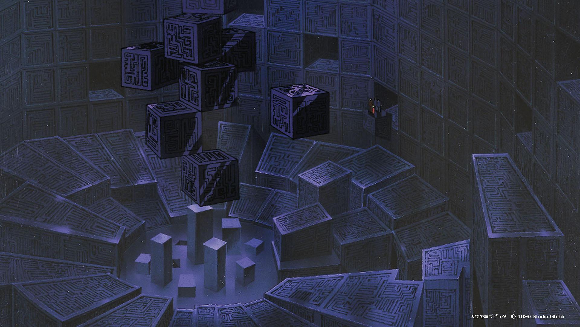 吉卜力提供免费视频会议背景素材,让你置身宫崎骏动画世界插图(6)