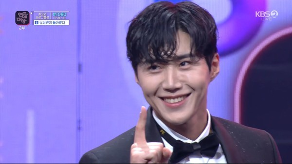 2020年KBS演艺大赏,《两天一夜4》拿下5大奖,金宣虎勇夺综艺新人奖插图3
