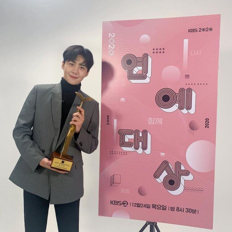 2020年KBS演艺大赏,《两天一夜4》拿下5大奖,金宣虎勇夺综艺新人奖插图6