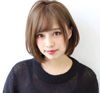 女装搭配流行发型的图片 第3张