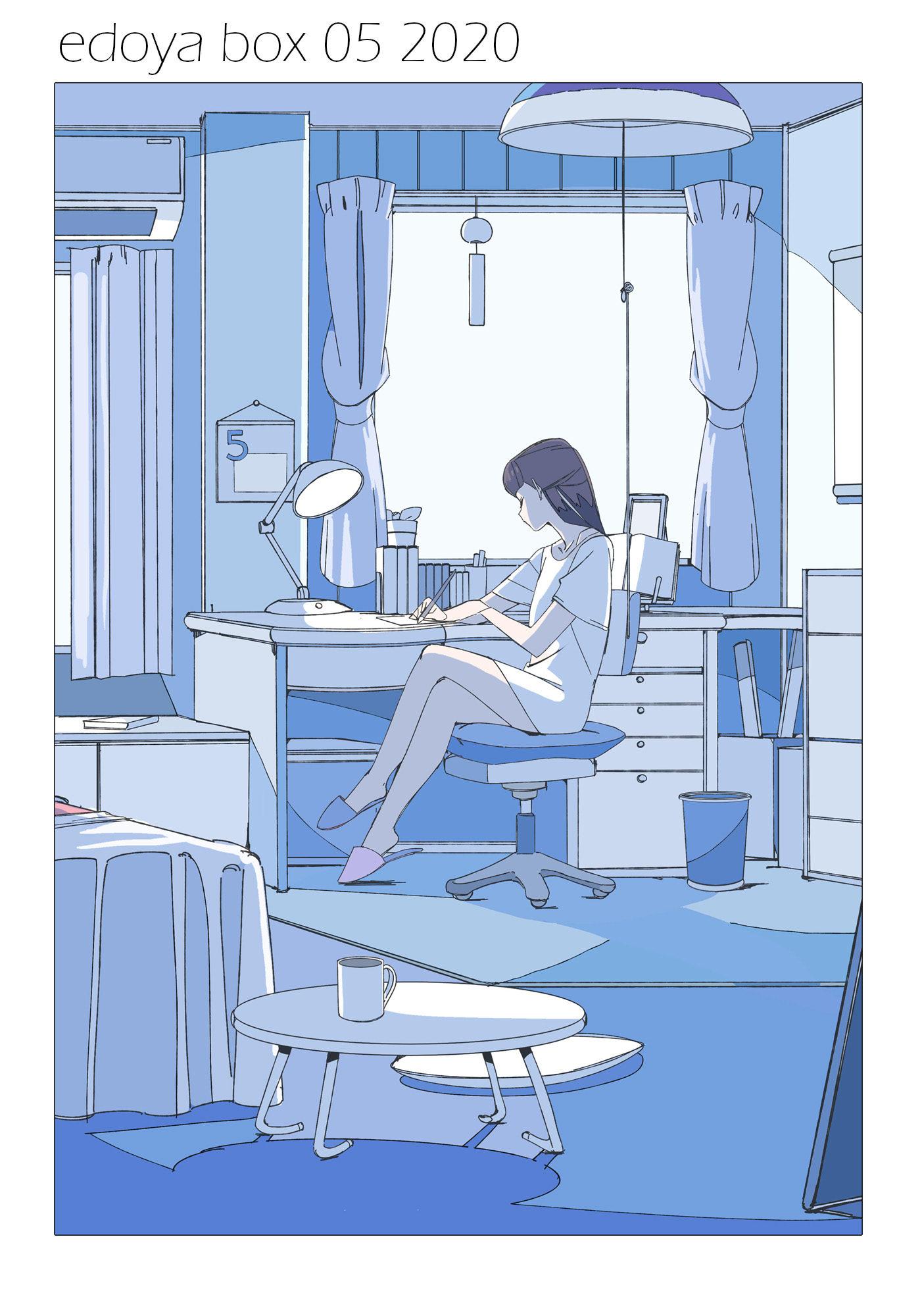 【P站美图】日本画师江戸屋犬八插画作品