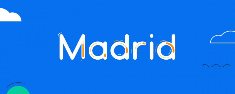 Madrid – Animated Typeface 1.4 破解版 – AE几何单线字体插件