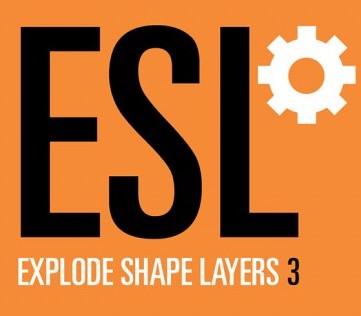Explode Shape Layers 3.4.8 破解版 – AE形状层控制脚本