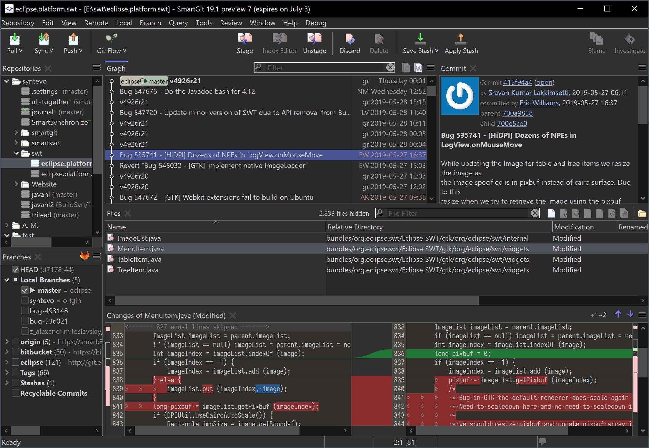技术宅的Git图形化工具smartgit
