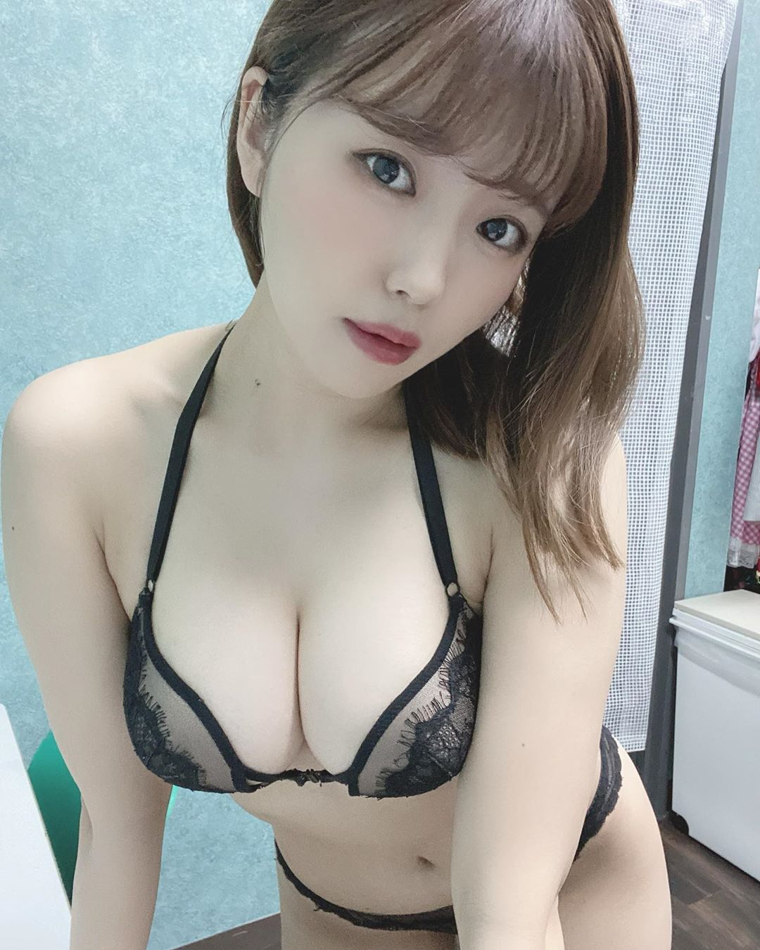 日本美女大生桜田なな半露酥胸放送性感上帝视角 养眼图片 第6张