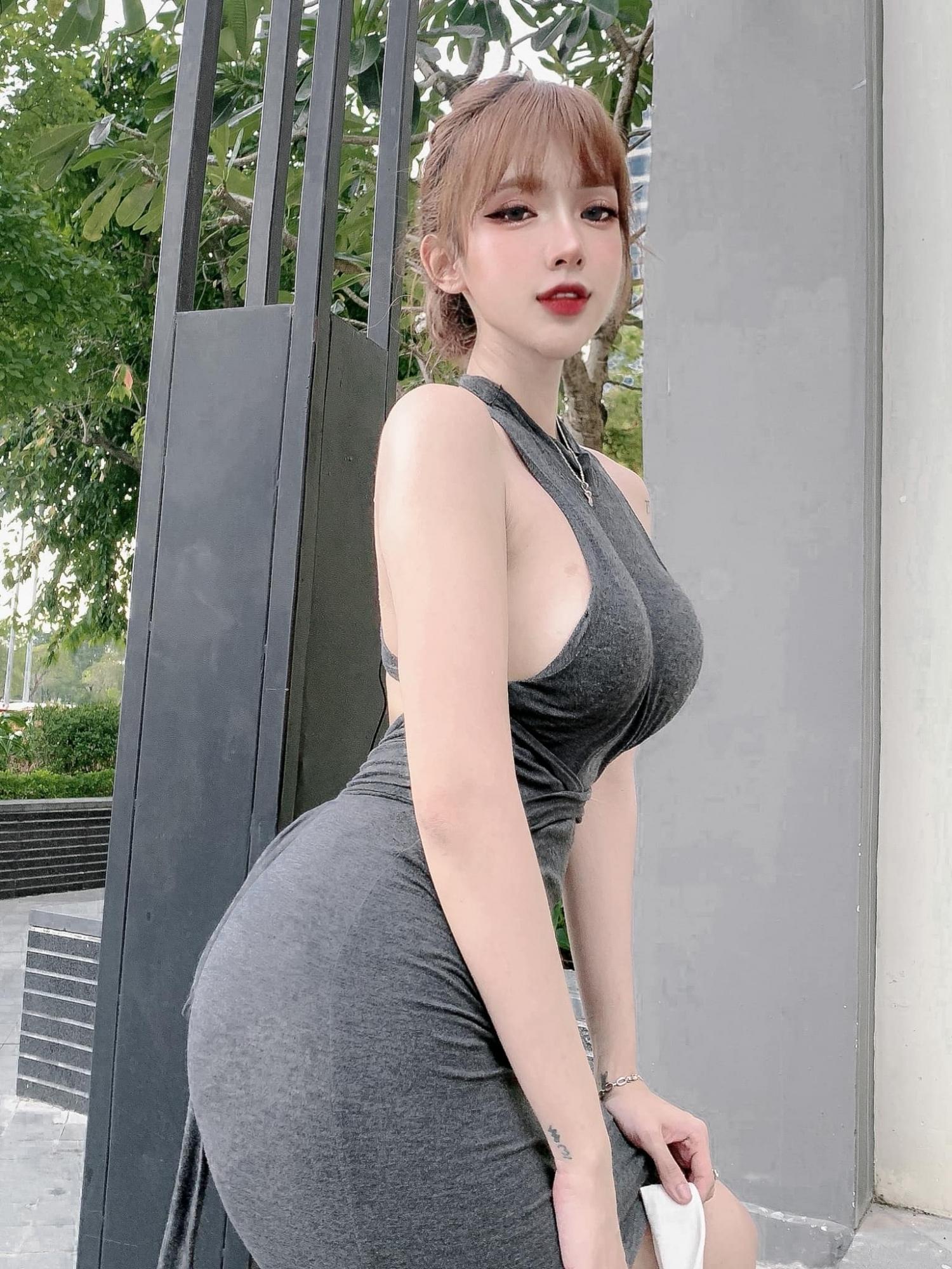 越南正妹mỹm超极品Body好像洋娃娃 养眼图片 第3张