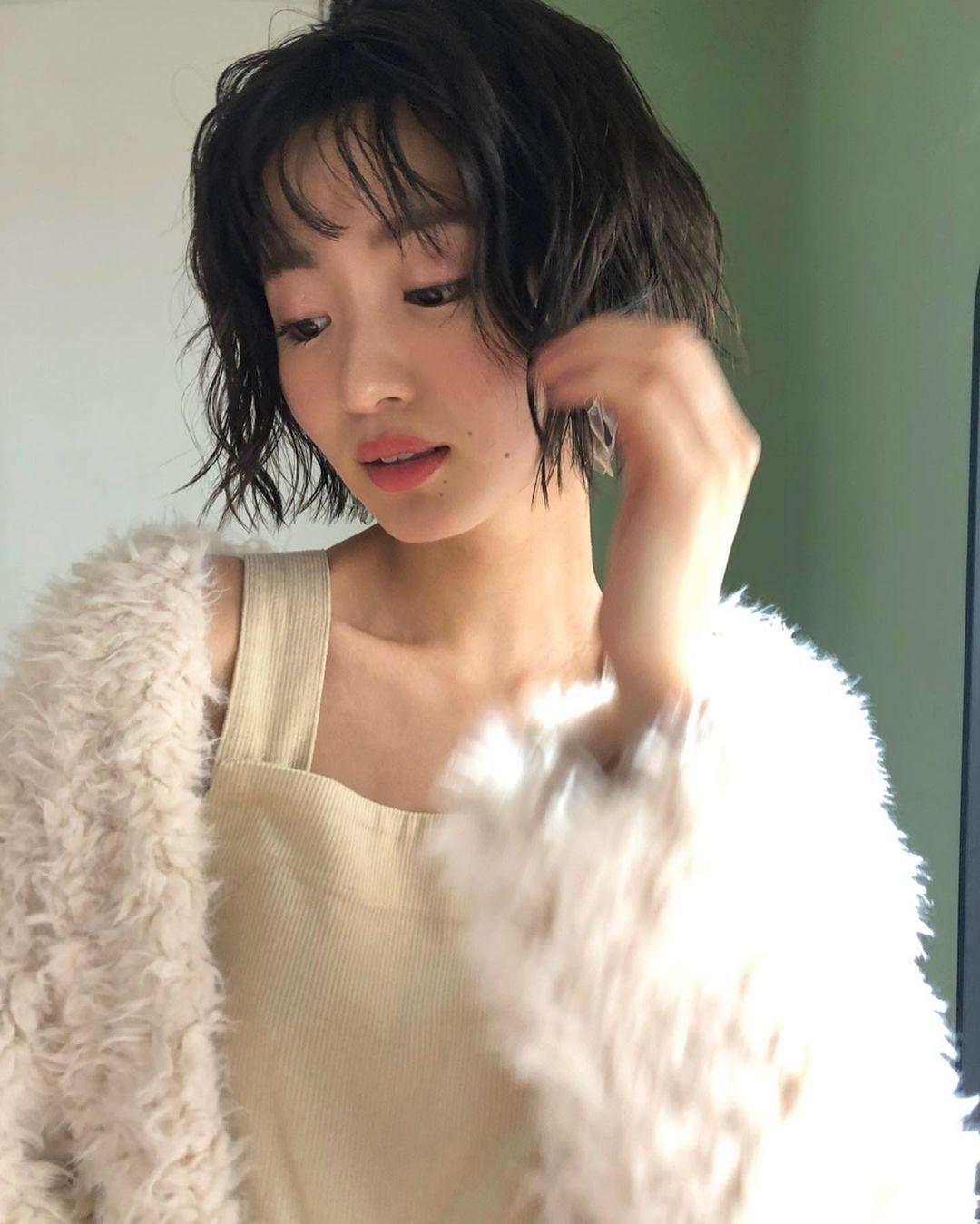 日系时尚杂志模特冈崎纱绘清甜笑容亲和力十足完全就是女友理想型 网络美女 第33张