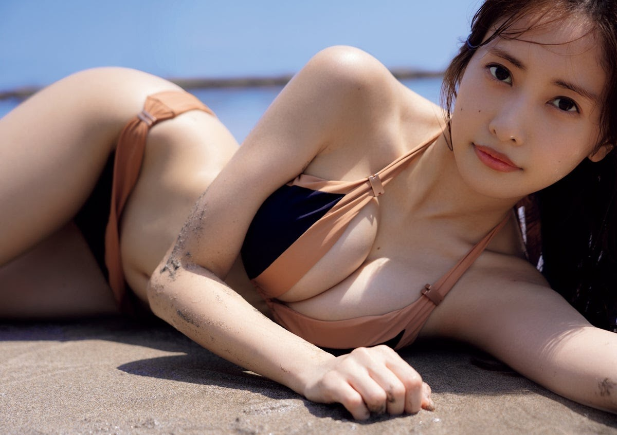 可甜也可辣!写真女星「佐野雏子」放「F 杯美、20吋纤腰」出来透透气啦!