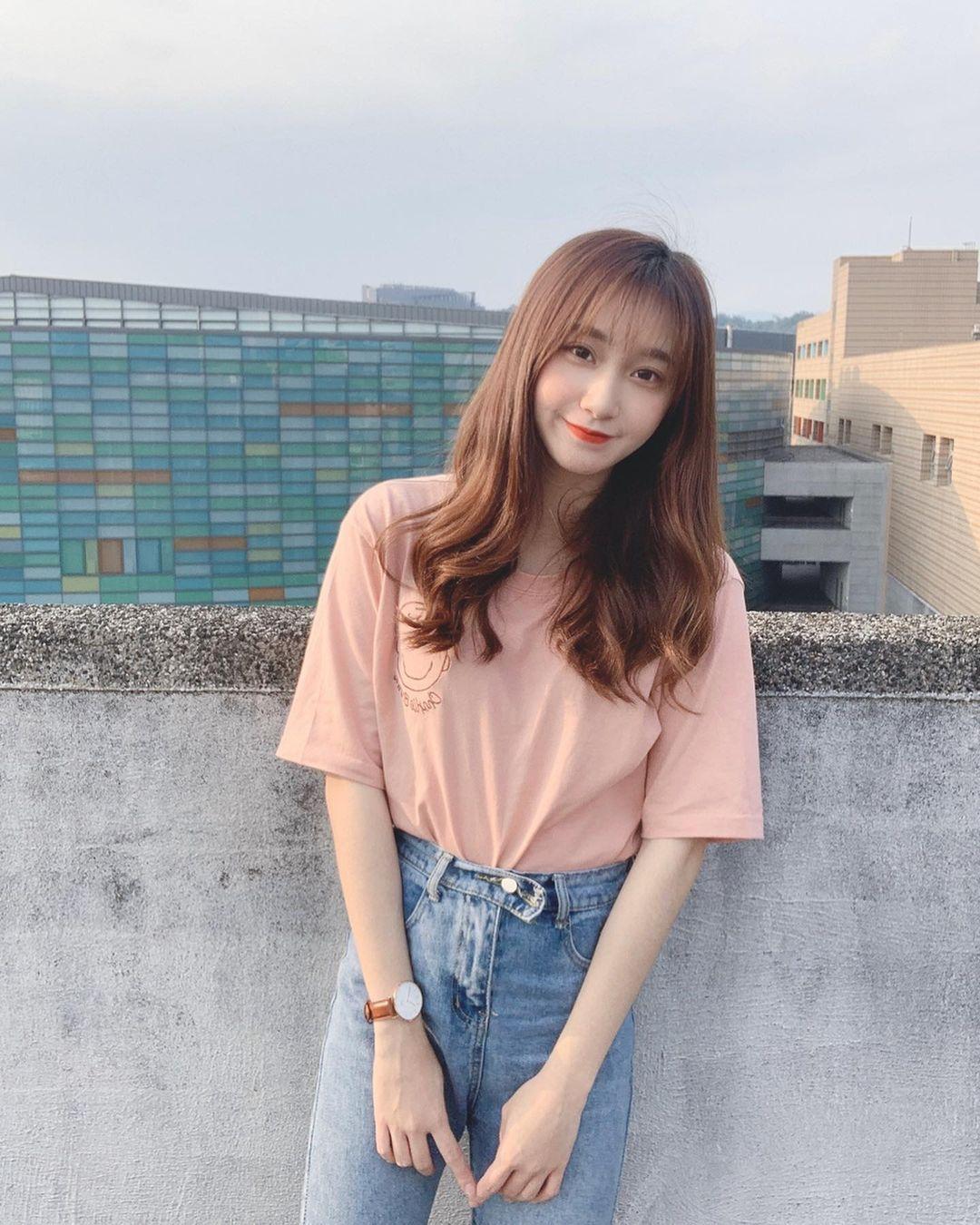 北教大校花女神倩米清新笑颜太甜美 美少女老师 网络美女 第5张