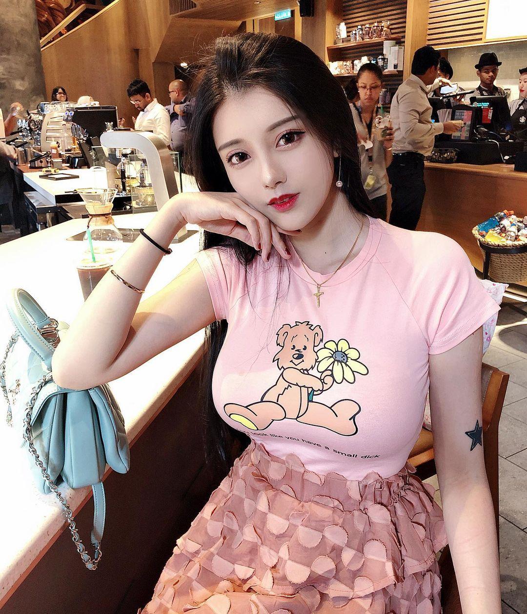 辣妹Candice林梦恬傲人身材美艳外型超极品