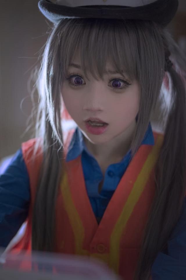 超萌美少女「小柔SeeU」COS拟人化《动物方城市》萌爆你的心♥-新图包