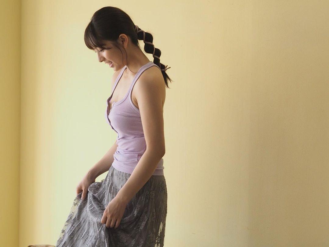 前AKB成员《大和田南那》昔日微肉感美少女瘦身成功!-新图包