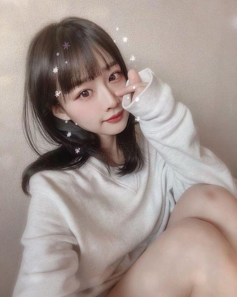萌萌樱花妹「曲线藏不住」,可爱针织衣-新图包