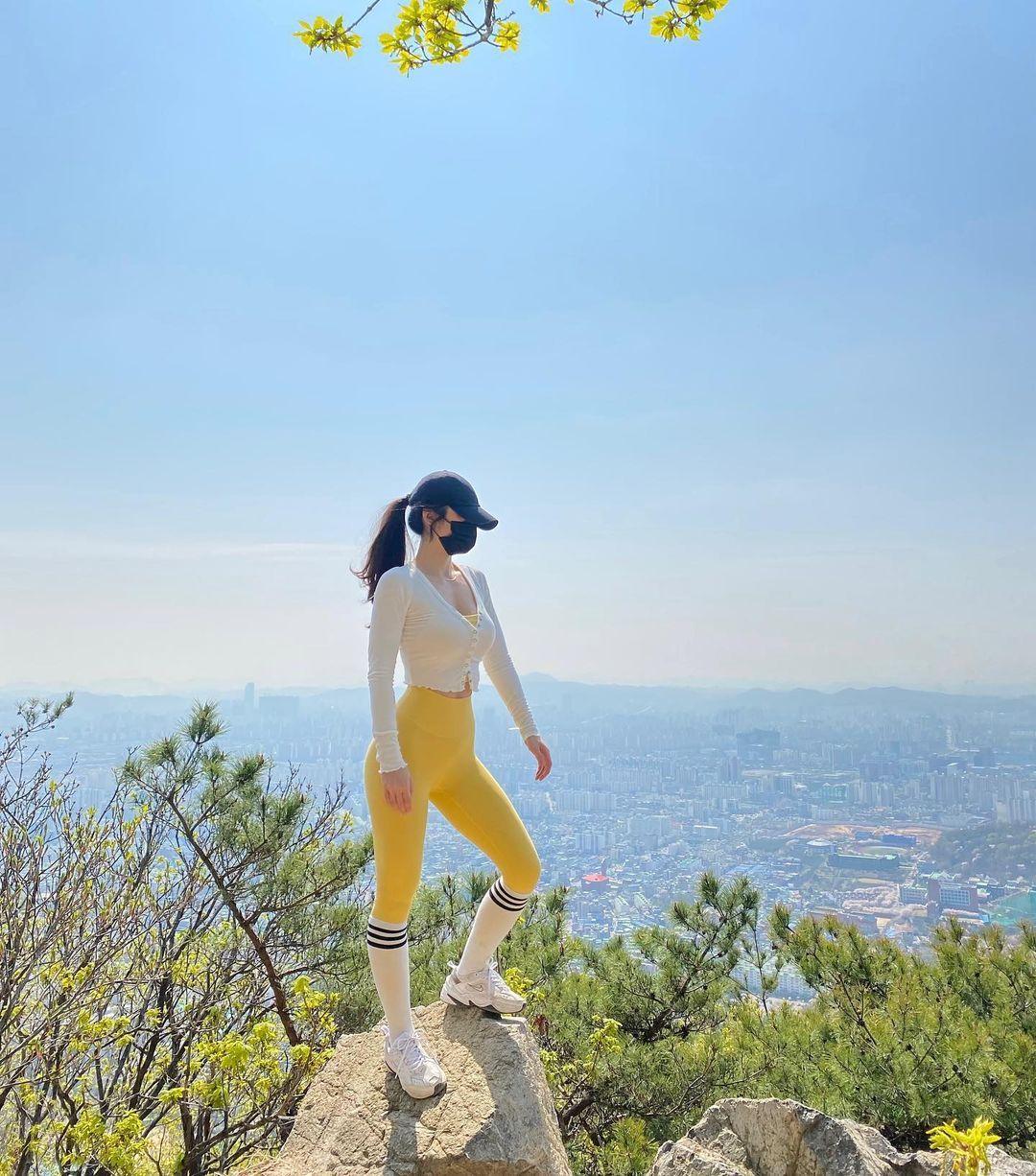 太冻龄韩国36 岁网红大眼嫩肌让人心动 养眼图片 第4张