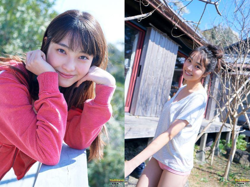 日本最可爱15岁「福田ルミカ」比基尼泳装如天使般 养眼图片 第14张