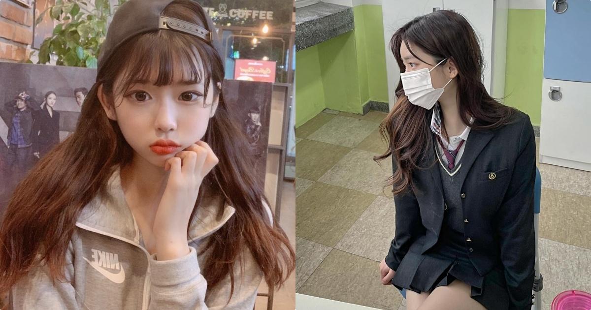 IG高校正妹「童颜」好极品,「放学后的穿搭」让人恋爱!