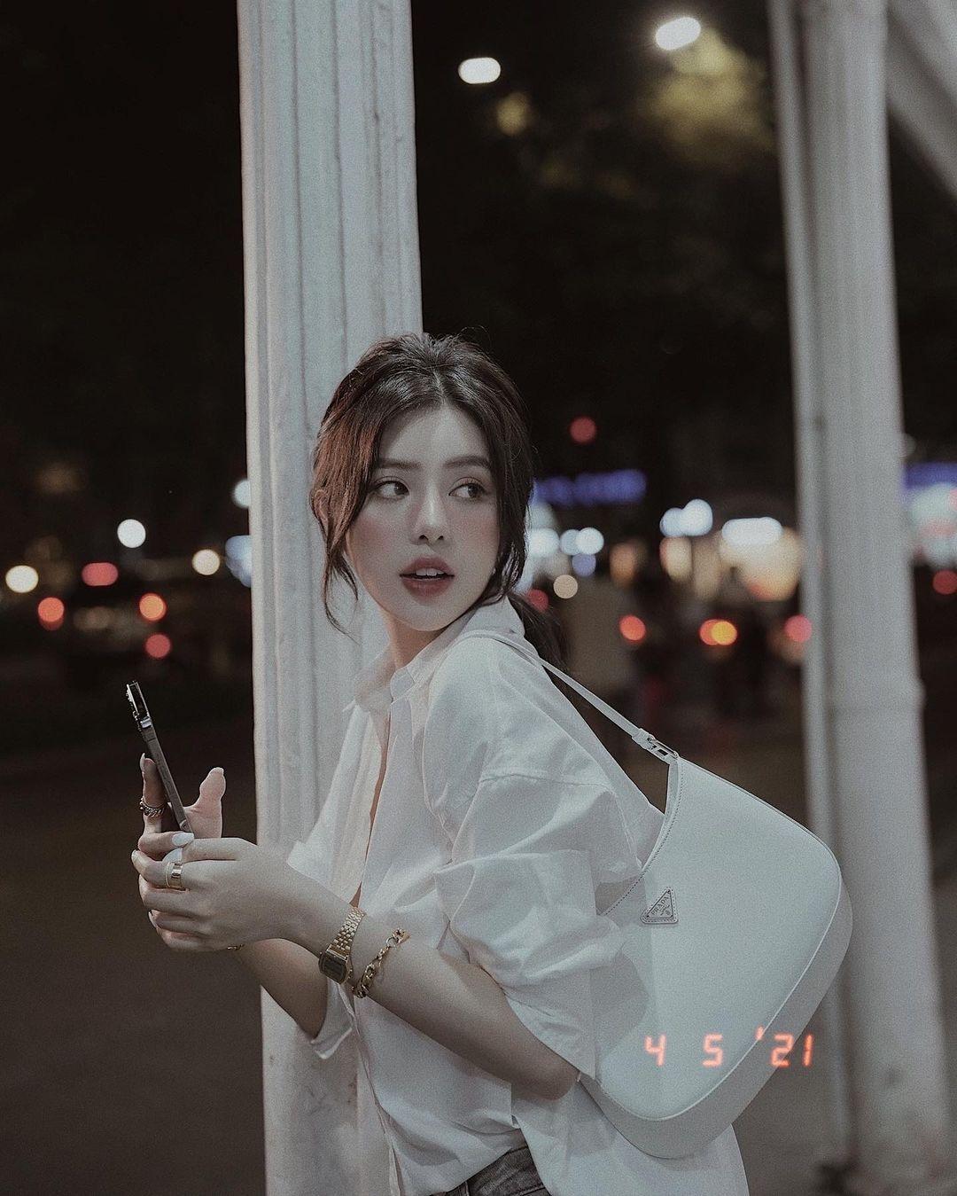 越南版范冰冰!「BaoBei」身材火辣超敢穿,透肤蕾丝秀「白嫩+小蛮腰」!插图(2)