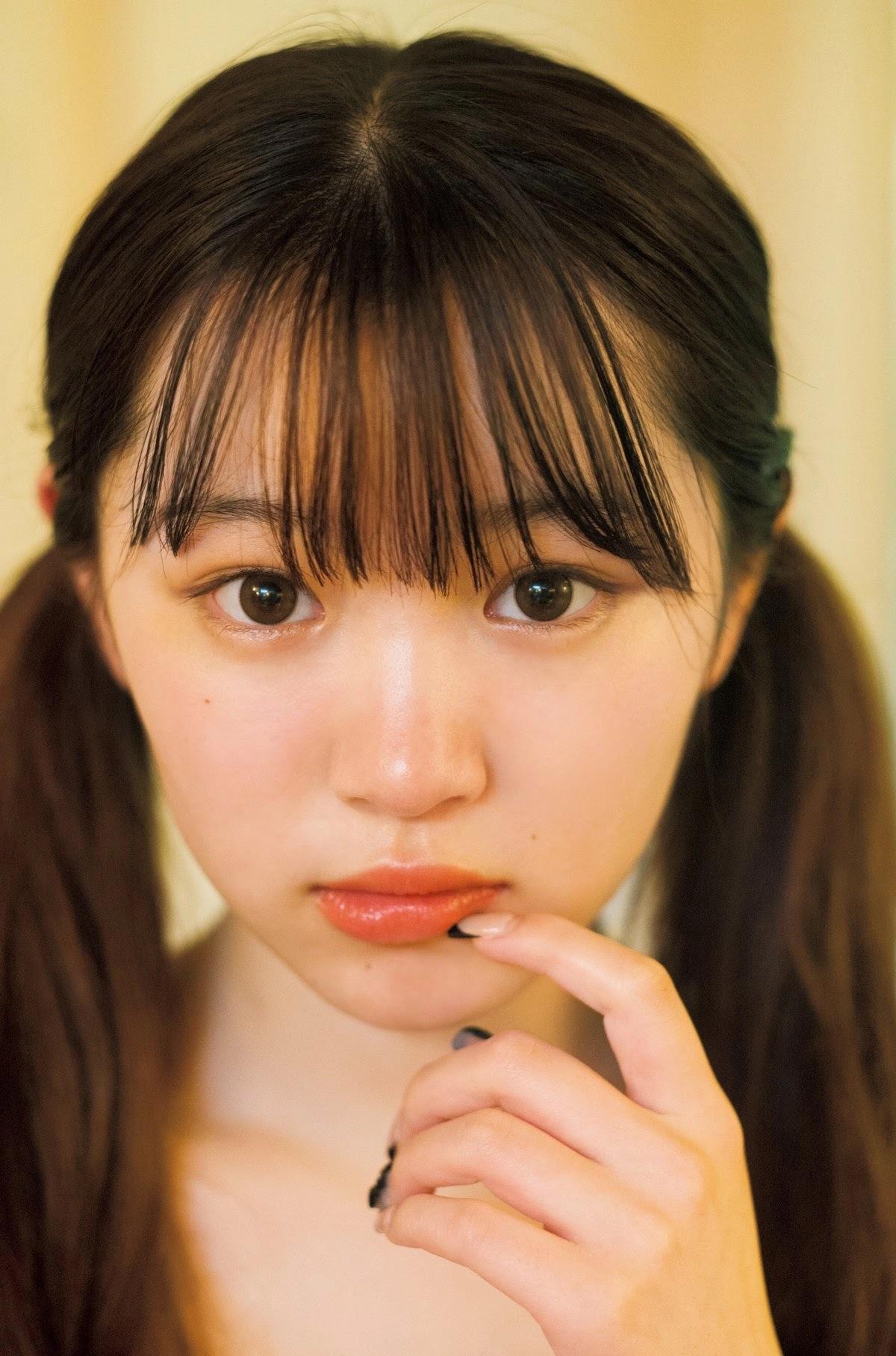 2005 年出生清新美少女平野梦来首度放风吸万粉 网络美女 第4张