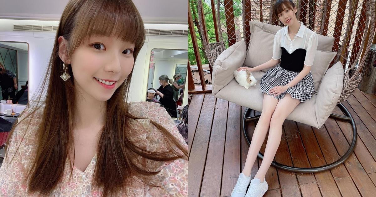 清纯可人的「萌系正妹」金渲mik,修长美腿超让人恋爱!笑容更是甜上加甜!