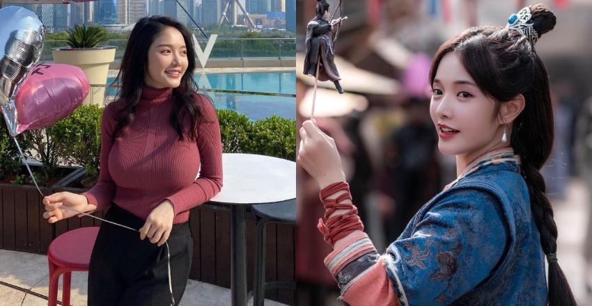 新一代黄蓉林妍柔被封「史上最凶」 网友:果然是「有蓉奶大」