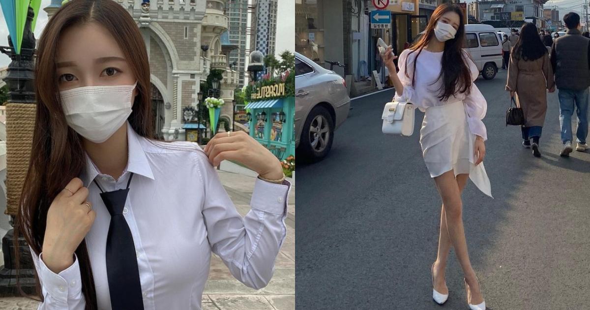 清纯学生妹转大人当服饰店老板娘,逆天长腿好极品,超完美曲线让人心动 网络美女 第1张